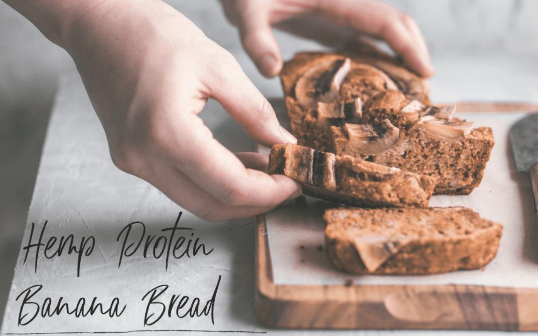 Hemp Protein Banana Bread