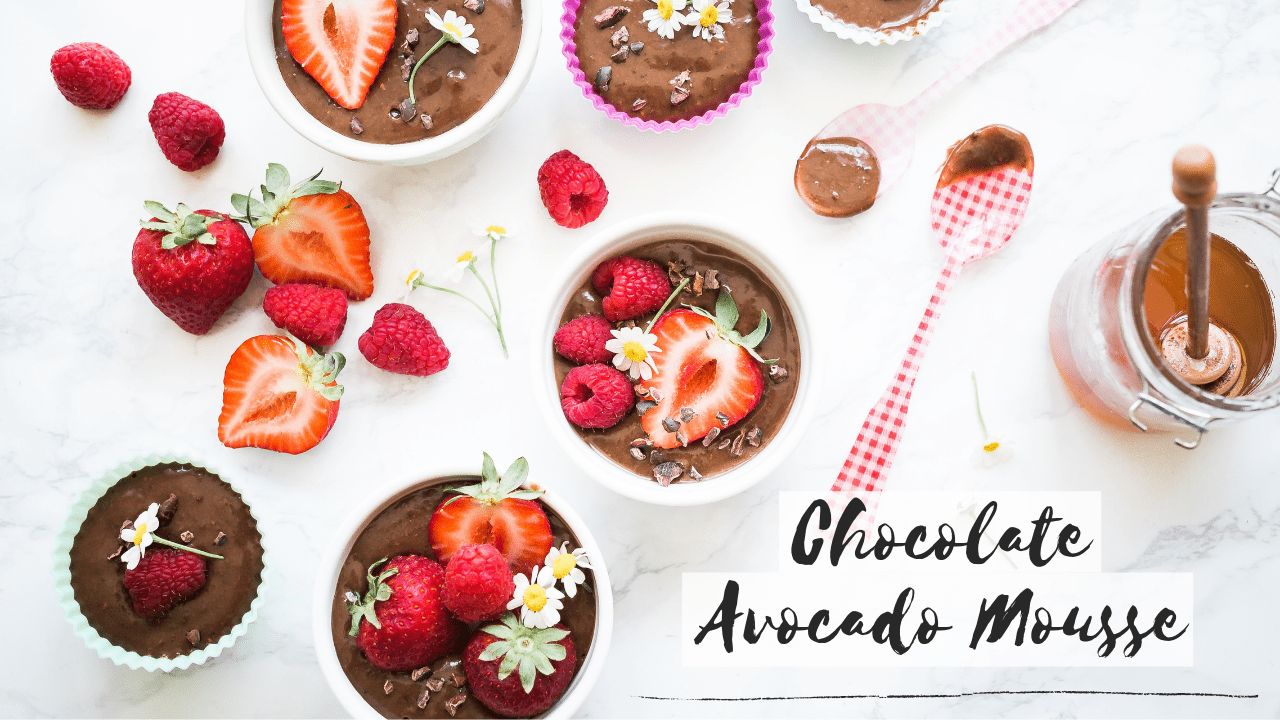 Chocolate Avocado Mousse (Dairy Free & Vegan)