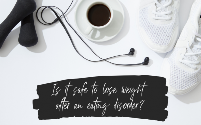 Episode 33: Is It Ever Safe To Lose Weight After Recovery From An Eating Disorder with Dietitian Talia Cecchele