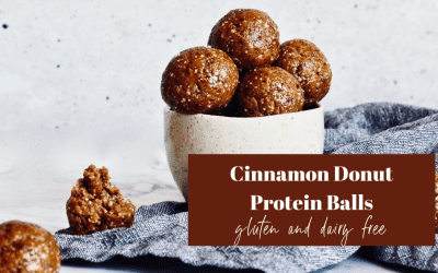 Cinnamon Donut Protein Balls