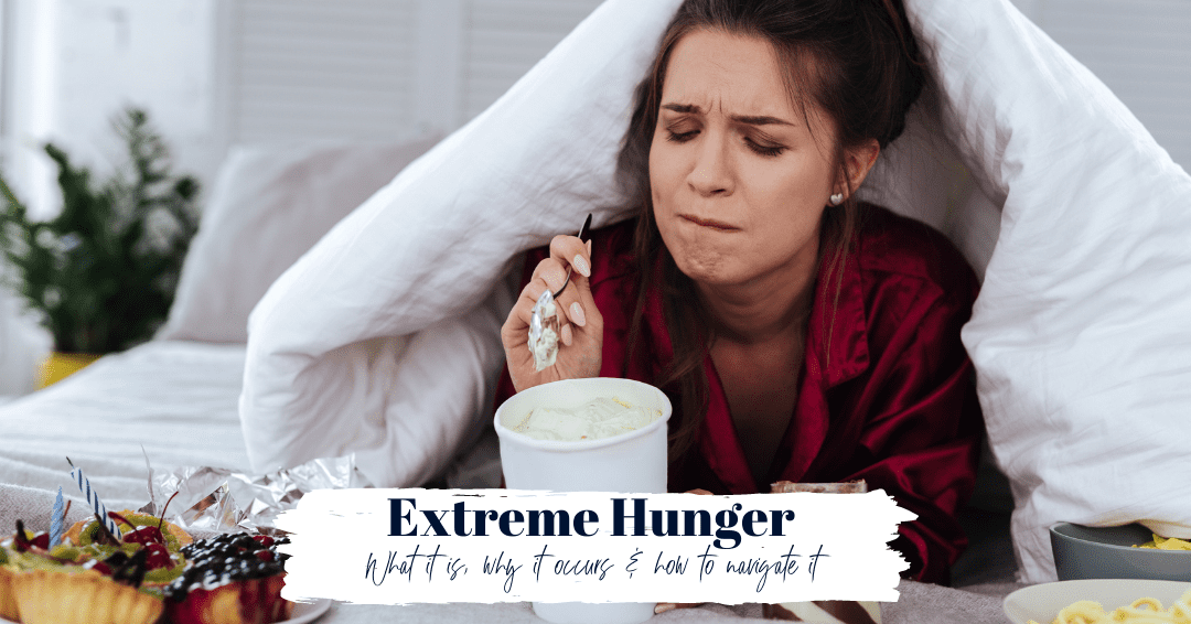 Episode 80: Extreme Hunger: What Is It, Why It Happens and How to Deal with It